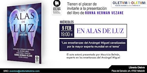 Presentación del libro En Alas de Luz de Ronna Herman Vezane