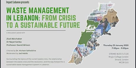 Waste Management in Lebanon: From Crisis to Sustainable Future tickets