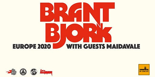 BRANT BJORK & Special Guest: MaidaVale