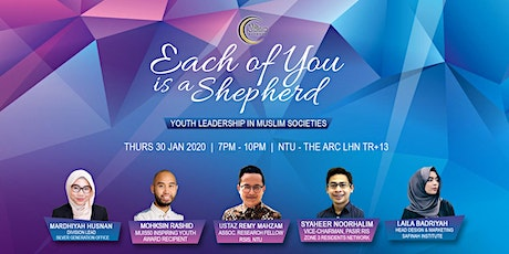 Each of You is a Shepherd - Youth Leadership in Faith-based Societies tickets