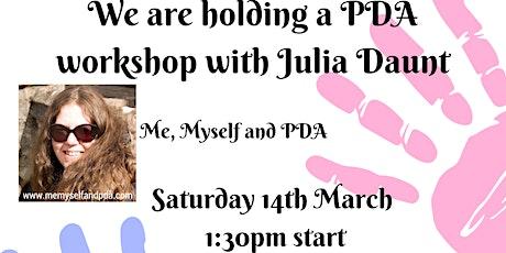 BRAAIN PDA Workshop With Julia Daunt tickets