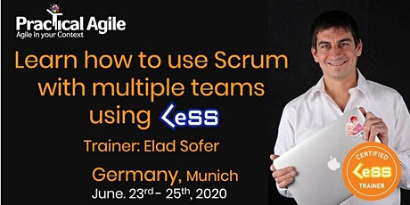 LeSS Practitioner course (Munich -Germany) - June 23rd -25th , 2020 tickets