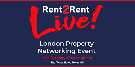 Rent 2 Rent Live! - London Property Network Event - February 2020 tickets