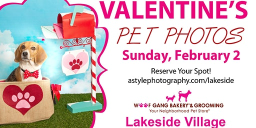 Valentine's Pet Photo Event