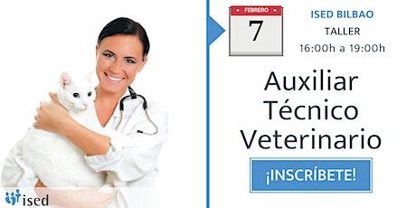 Taller de Ayudante Veterinario 7 de febrero - tarde entradas