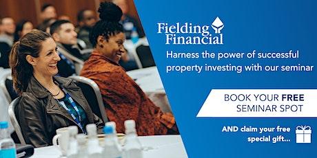 FREE Property Investing Seminar - WATERLOO -Park Plaza, Waterloo  tickets
