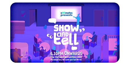 aNEmates show and tell tickets