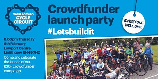 West Lothian Cycle Circuit Crowdfunder Launch Party