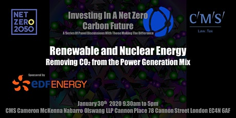 Renewable and Nuclear Energy - Removing CO₂ from the Power Generation Mix tickets