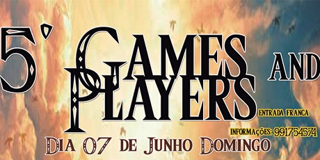 5° Games and Players ingressos