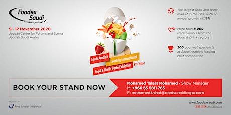 Foodex Saudi 2020 tickets