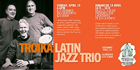 Troika Latin Jazz Trio tickets
