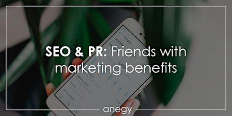 SEO & PR: Friends with marketing benefits biljetter