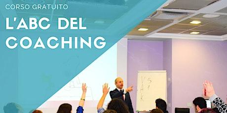 L'ABC del Coaching – corso gratuito biglietti