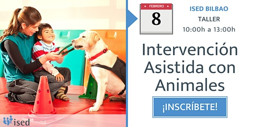 Taller de Intervención Asistida con Animales 8 de febrero