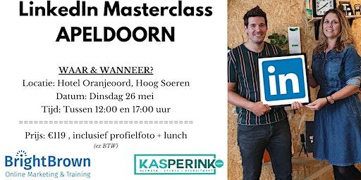 LinkedIn Masterclass APELDOORN, incl. Profielfoto (€119,- ex BTW)