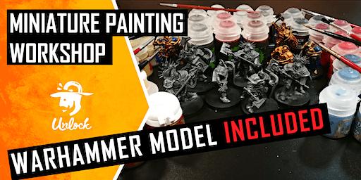 Atelier de pictat miniaturi Warhammer