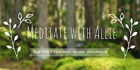 Meditation -Intro talk - Melbourne inner west tickets