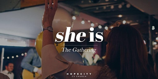 She Is - The Gathering with Ps. Jenny Gilpin