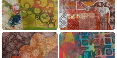 Monotype Printmaking using Gelli plates and Golden OPEN acrylics tickets