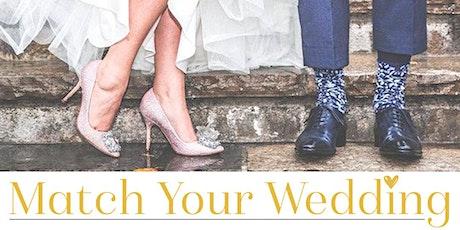 Match Your Wedding @DeHogeNeer tickets