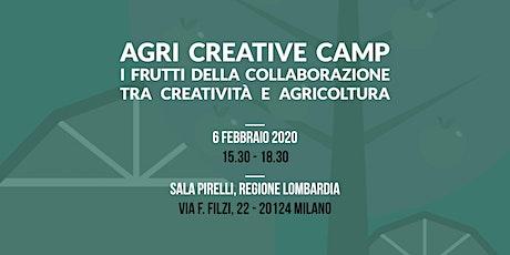 AGRI CREATIVE CAMP biglietti