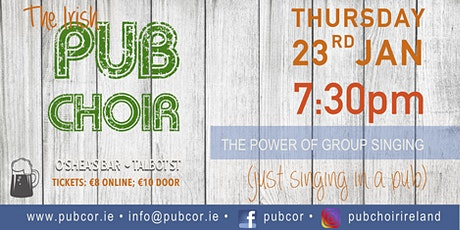 Pub Cór  DUBLIN (Linger) 23rd January  @O'Shea's Bar, Talbot St. D.1 tickets