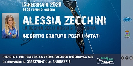 Alessia Zecchini, La Regina degli abissi si racconta biglietti