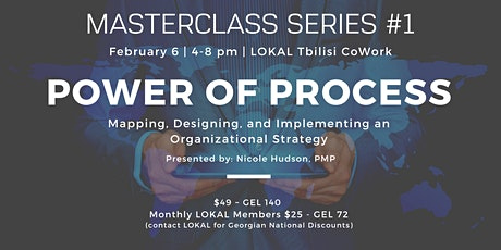 Masterclass: The Power of Process tickets