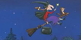 Gloucester Library- Room on the Broom story and crafts hosted by adult ed.
