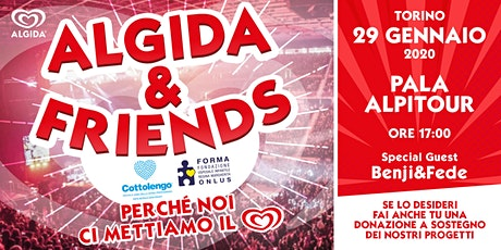 ALGIDA & FRIENDS tickets