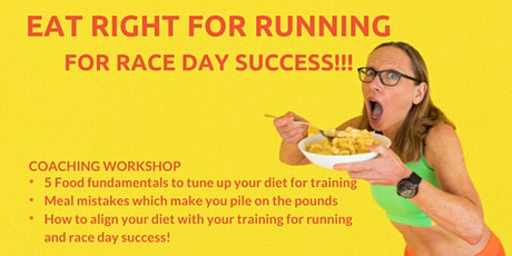 Eat Right for Running Workshop tickets
