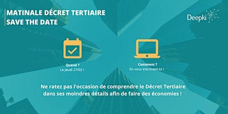 Matinale Décret Tertiaire - Deepki tickets