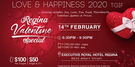 Love and Happiness 2020 TGIF tickets