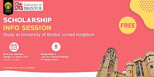 Scholarship Info Session Study at University of Bristol, United Kingdom
