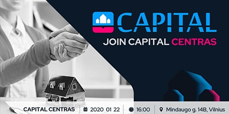 JOIN CAPITAL CENTRAS tickets