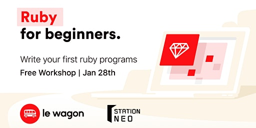 Ruby for beginners (English)