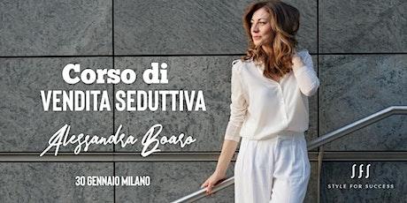 CORSO DI VENDITA SEDUTTIVA tickets