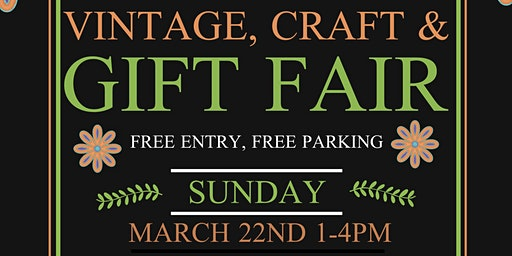 Mother's Day Vintage, Craft & Gift Fair at The Arden Hotel