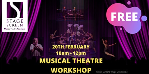 FREE Musical Theatre Workshop by StageScreen Musical Theatre Associates