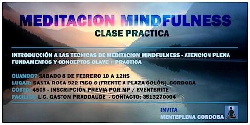 Meditación Mindfulenss - Clase Práctica