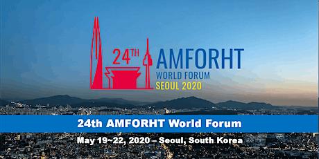 2020 AMFORHT World Forum tickets