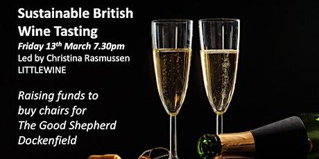 Sustainable British Wine tasting tickets
