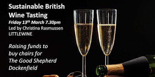 Sustainable British Wine tasting