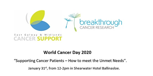 "World Cancer Day 2020 ""Supporting Cancer Patients – How to meet Unmet Needs"