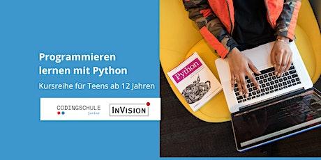 Programmieren lernen mit Python / Kursreihe für Teens ++ausverkauft++ Tickets