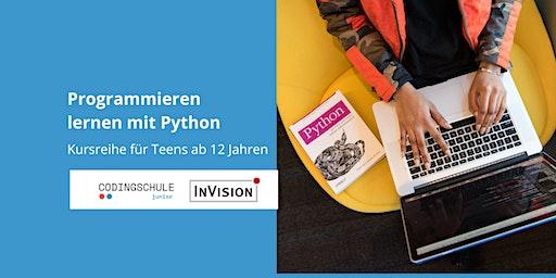 Programmieren lernen mit Python / Kursreihe für Teens ++ausverkauft++