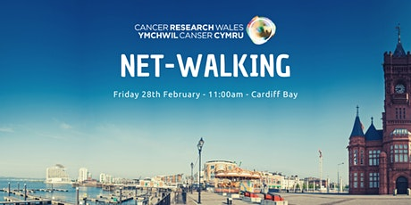 Cancer Research Wales Netwalking tickets