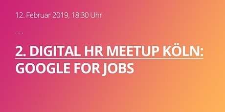 Digital HR Meetup #2 tickets