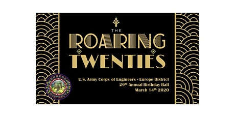 2020 Roaring 20's USACE Birthday Ball Tickets